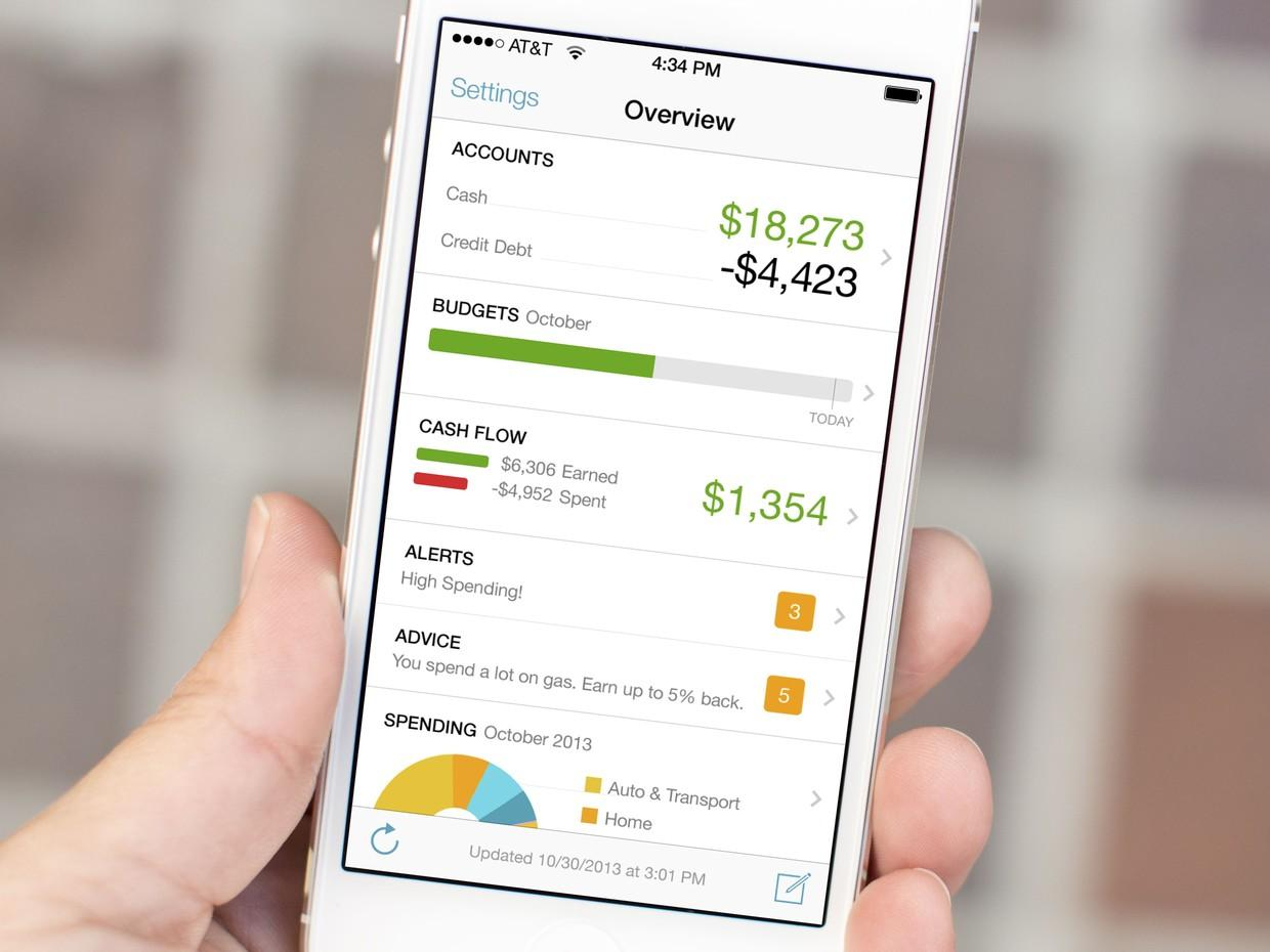 application mobile finances