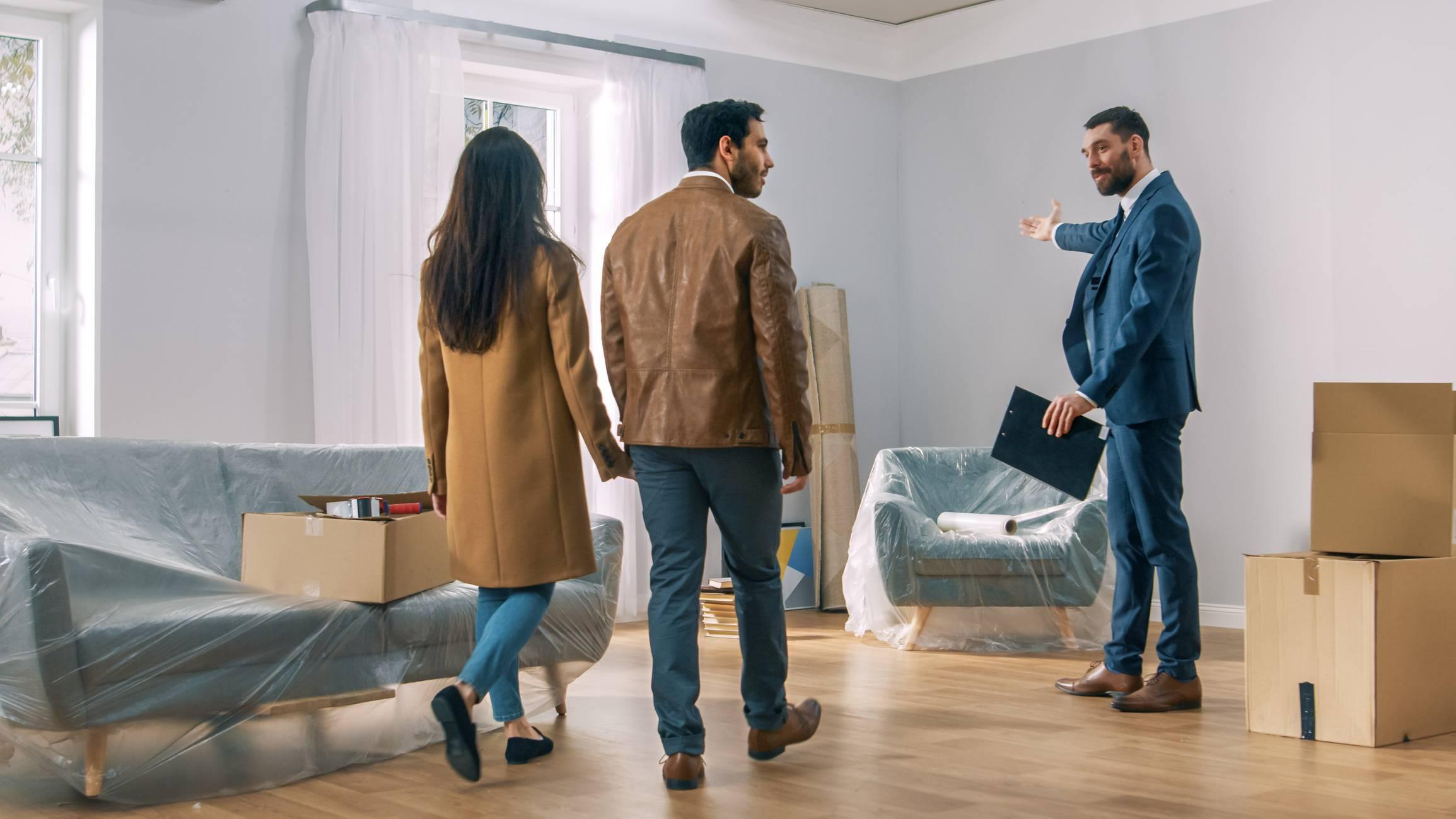 vendre logement avec agence immobilière
