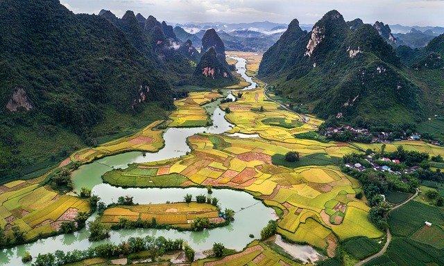 paysage du viet nam