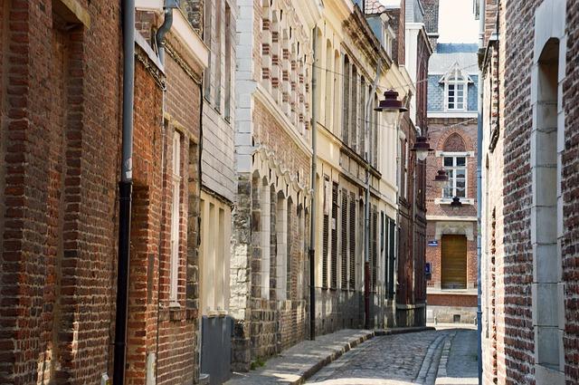 rue coquerez dans le vieux lille