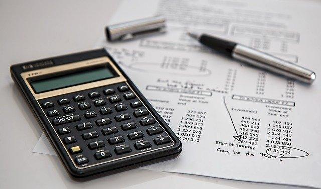 calculatrice et feuille de calculs